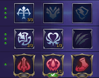 Konfigurasi emblem Fighter untuk Roger