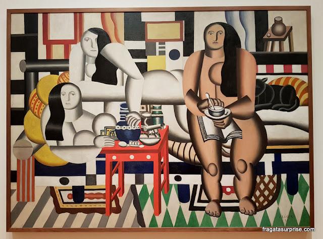 Três Mulheres, de Fernand Léger - MoMA, Nova York