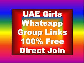 UAE Girls Whatsapp Group Links, UAE  Whatsapp Group Links