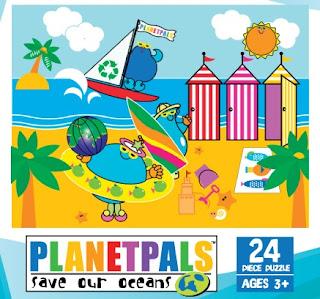 Planetpals Puzzles Teach Kids to be Greener!