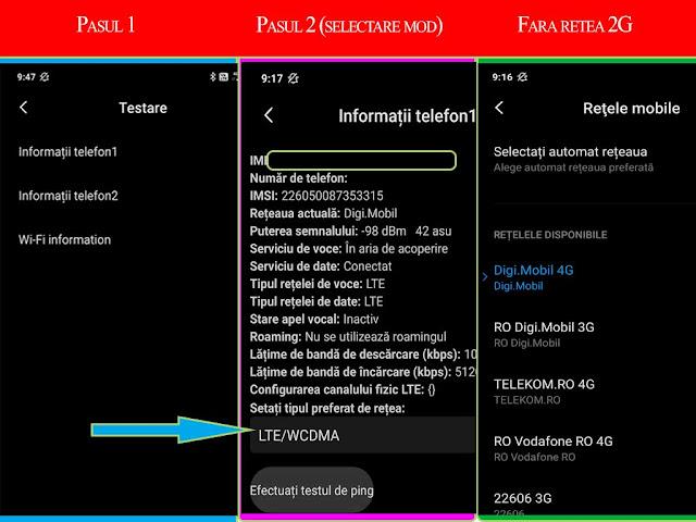 Cum sa dezactivezi rețeaua 2G pe telefoanele Xiaomi