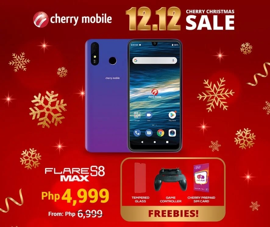DEAL ALERT: Cherry Mobile Flare S8 Max on SALE this 12.12 for Only Php4,999 (Instead of Php6,999)
