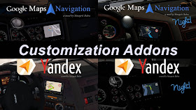 how to use navigation mods with map mods