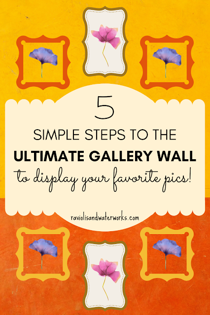 how to make a gallery wall photo collage