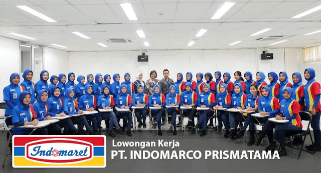 Lowongan Kerja Crew Store PT. Indomarco Prismatama Untuk Semua Area Banten Kecuali Tangerang