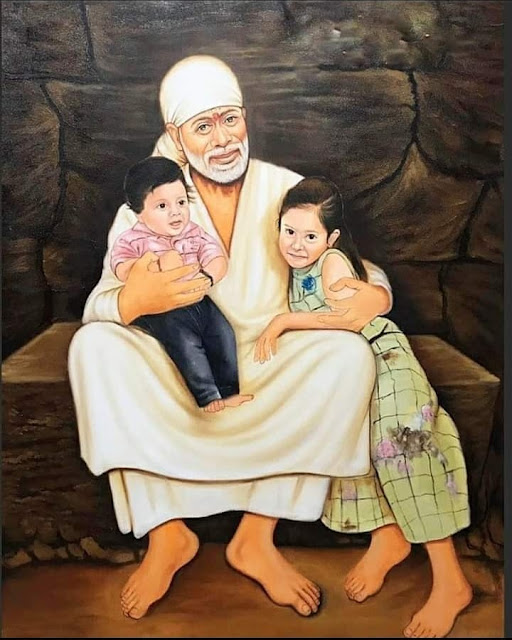 sai baba with children 2020 images