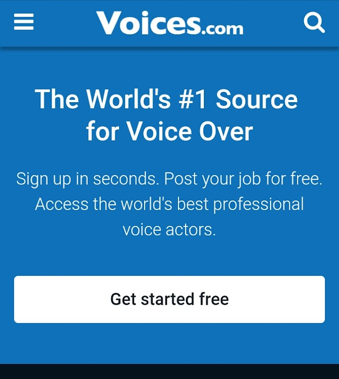 Earn 100$ form voices.com best way to online earn money.