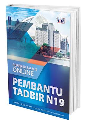 Contoh Soalan Peperiksaan Pembantu Tadbir (Perkeranian/Operasi) N19 2021 (PTPO)