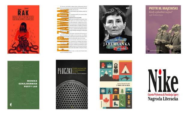 Poznaliśmy nazwiska siedmiu finalistów Nagrody Literackiej Nike 2020