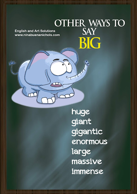 other ways to say big