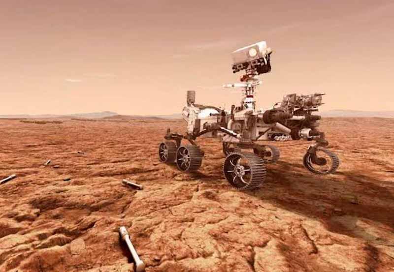 Perseverance Rover extrai oxigênio da atmosfera marciana