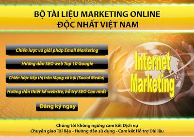 bộ tài liệu Marketing Online miễn phí