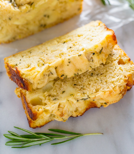 Herbed Ricotta Cheesy Bread