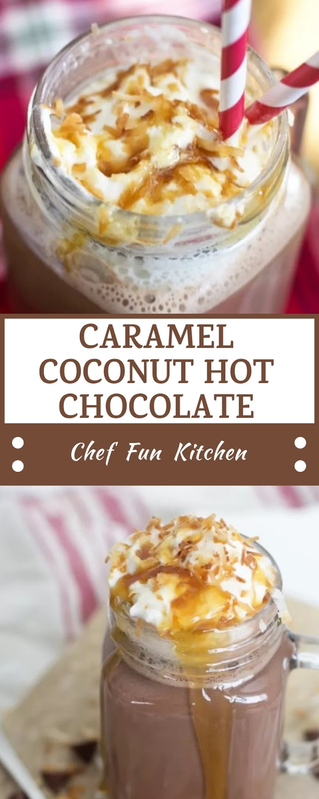 CARAMEL COCONUT HOT CHOCOLATE