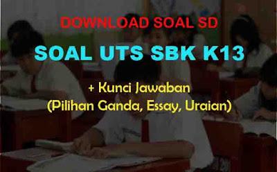 Soal UTS SBK Kelas 4 SD & Kunci Jawaban (Seni Rupa, Musik)