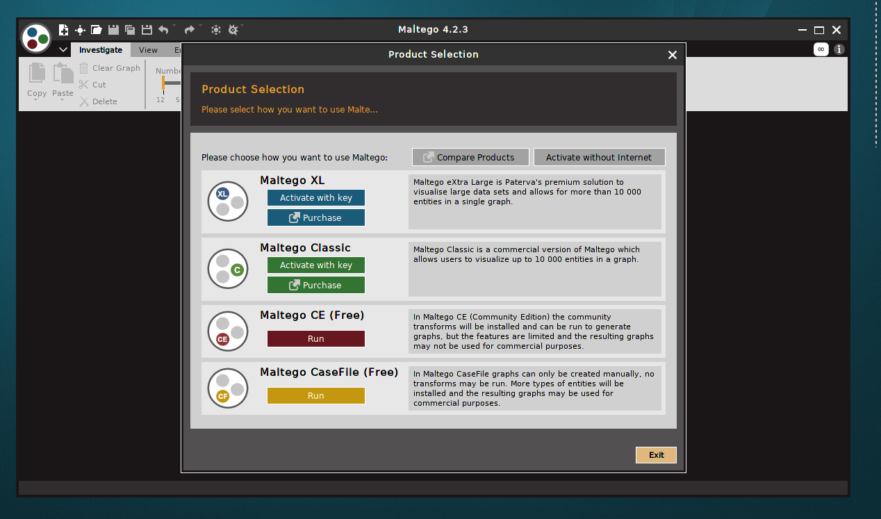 Install Maltego 4 3 2 on Debian 9 / Ubuntu / MX Linux