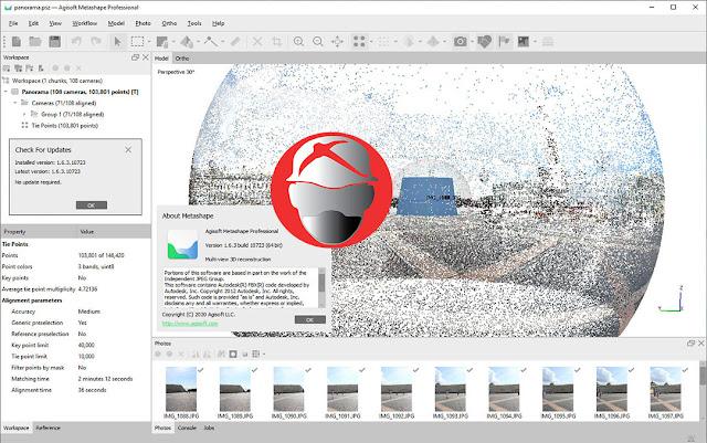Agisoft Metashape Pro v1.6.3