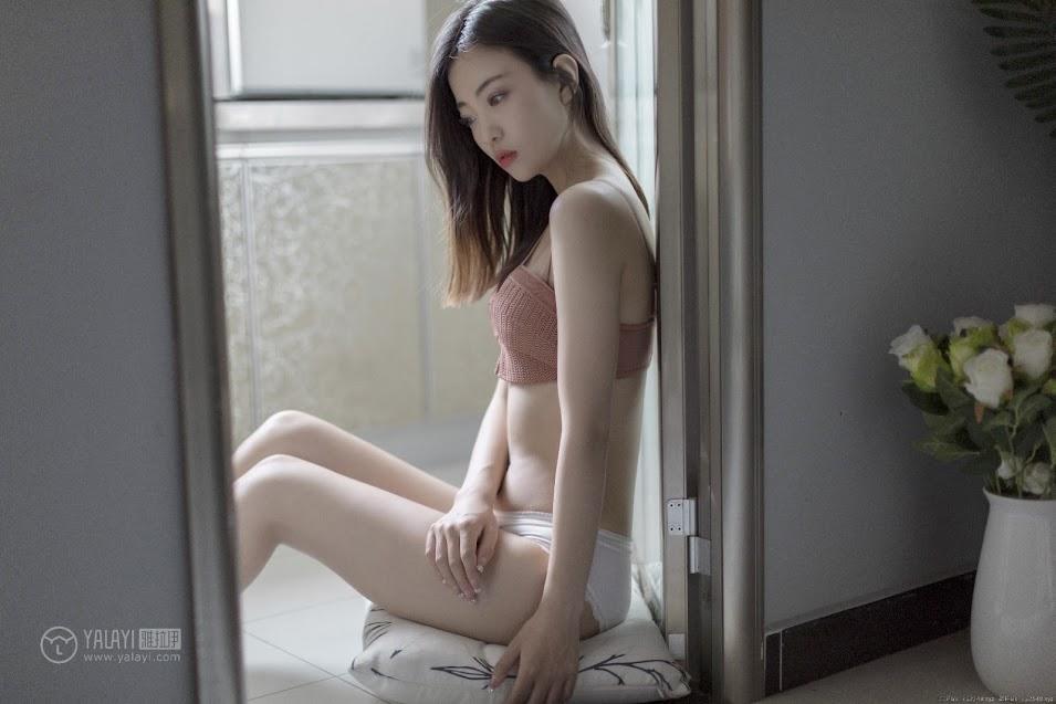 YALAYI雅拉伊 2019.06.26 No.320 少女与玫瑰 高若童