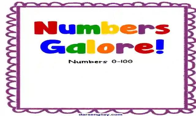 افضل كتاب لتعليم الاطفال كتابة الارقام من 0 الى 100 باللغة الانجليزية