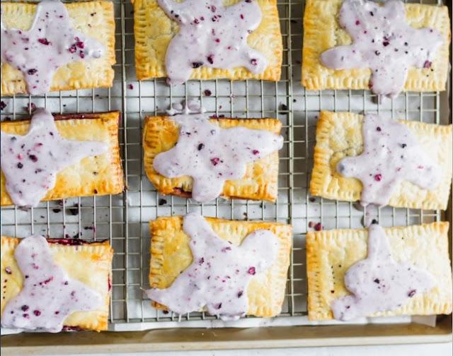 Vegan Blueberry Poptarts #vegan #recipes