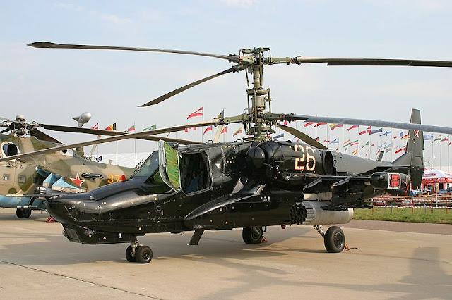 Gambar 10. Foto Helikopter Tempur Kamov Ka-50 Black Shark