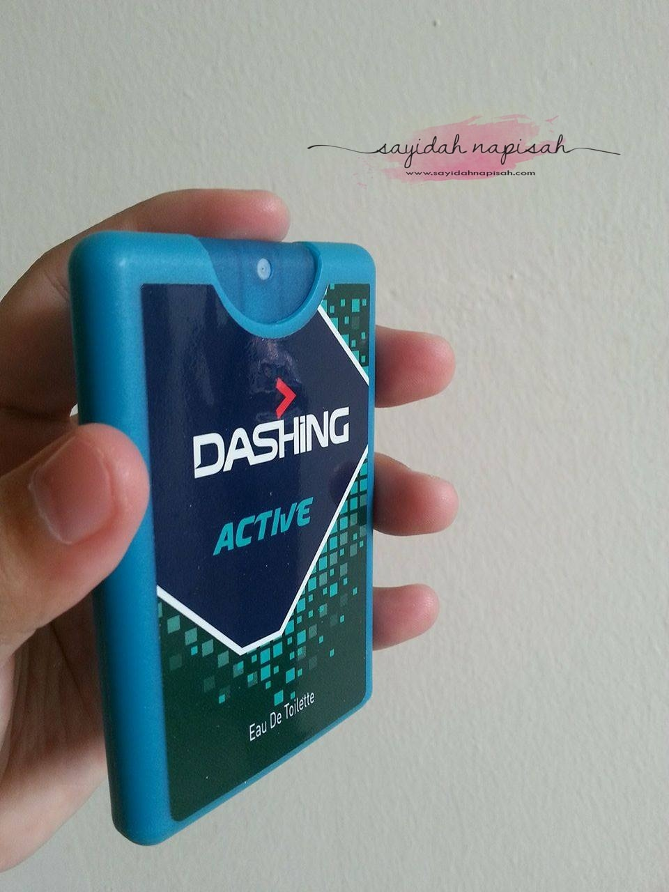 DASHING Anytime EDT | Ekspresi Wangian Maskulin Di Dalam Poket