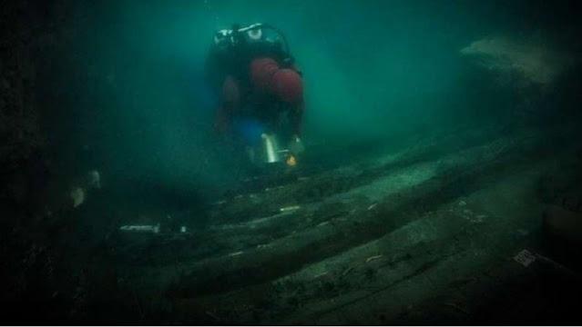 Dunia Geger, Kuburan Kapal Perang Raja Firaun Ditemukan di Laut