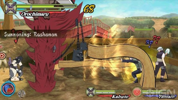 Naruto Shippuden: Ultimate Ninja Heroes 3 (USA) PSP ISO Screenshots #4