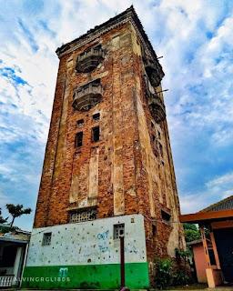 Foto Lawas Menara Air Manggarai Peninggalan Belanda