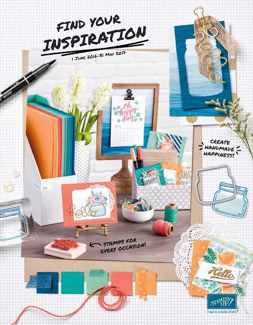 Stampin Up 2016-2017 Catalogue