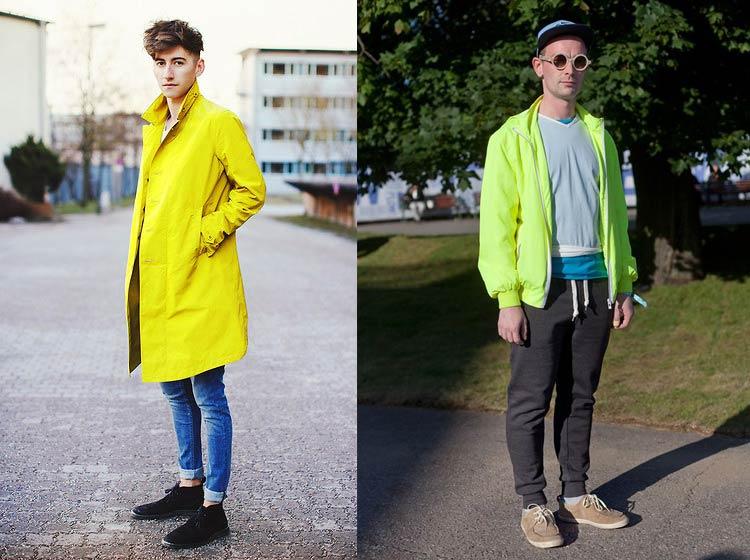 c9fd7ca853 Confere algumas fotos de looks masculinos com peças neon e inspira-te