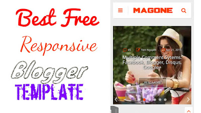Best Free Responsive Blogger Template (SEO+ Adsense Friendly) 2020