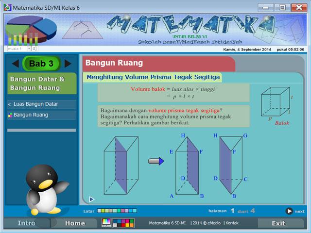 Belajar Matematika Kelas 6 Sd Mi Matsd6v1 Media Belajar Interaktif