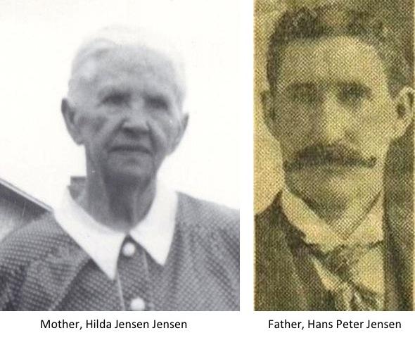 Mt Pleasant Pioneer Hazel Theora Jensen Anderson Lundberg History