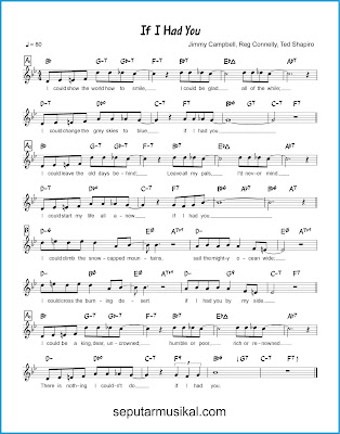 If I Had You chords jazz standar