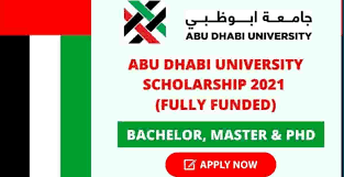 Scholarship at Abu Dhabi University in UAE  for Bachelor, Master and PHD _ Fully Funded 2021 | Scholarships 2021