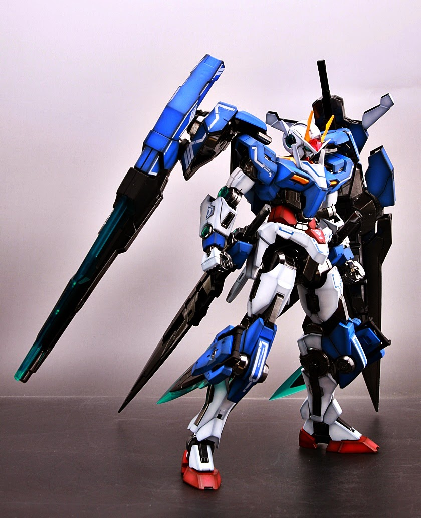 Painted Build Mg 1 100 00 Gundam Seven Sword G Part 1 Of