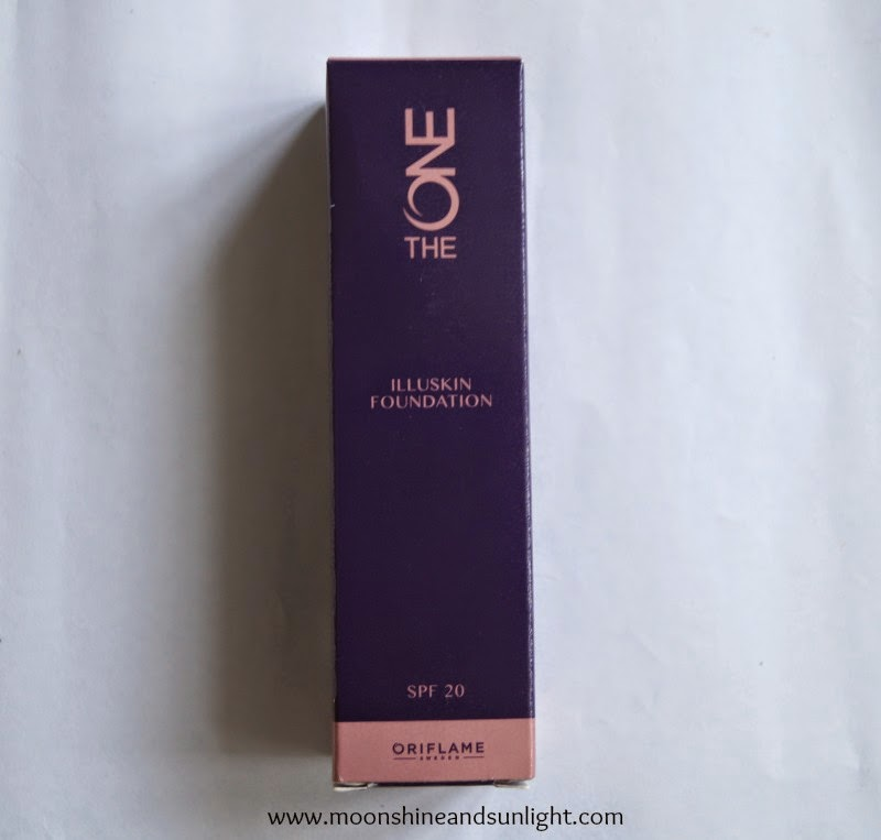 "Oriflame ""The One"" illuskin foundation in Nude beige review ,swatches and FOTD"