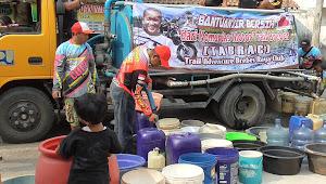 Komunitas Tabrac Droping Air Bersih