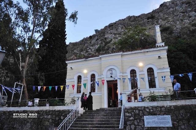 Γιορτάζει το εκκλησάκι του Αγίου Ιωάννη του Θεολόγου στο Ναύπλιο