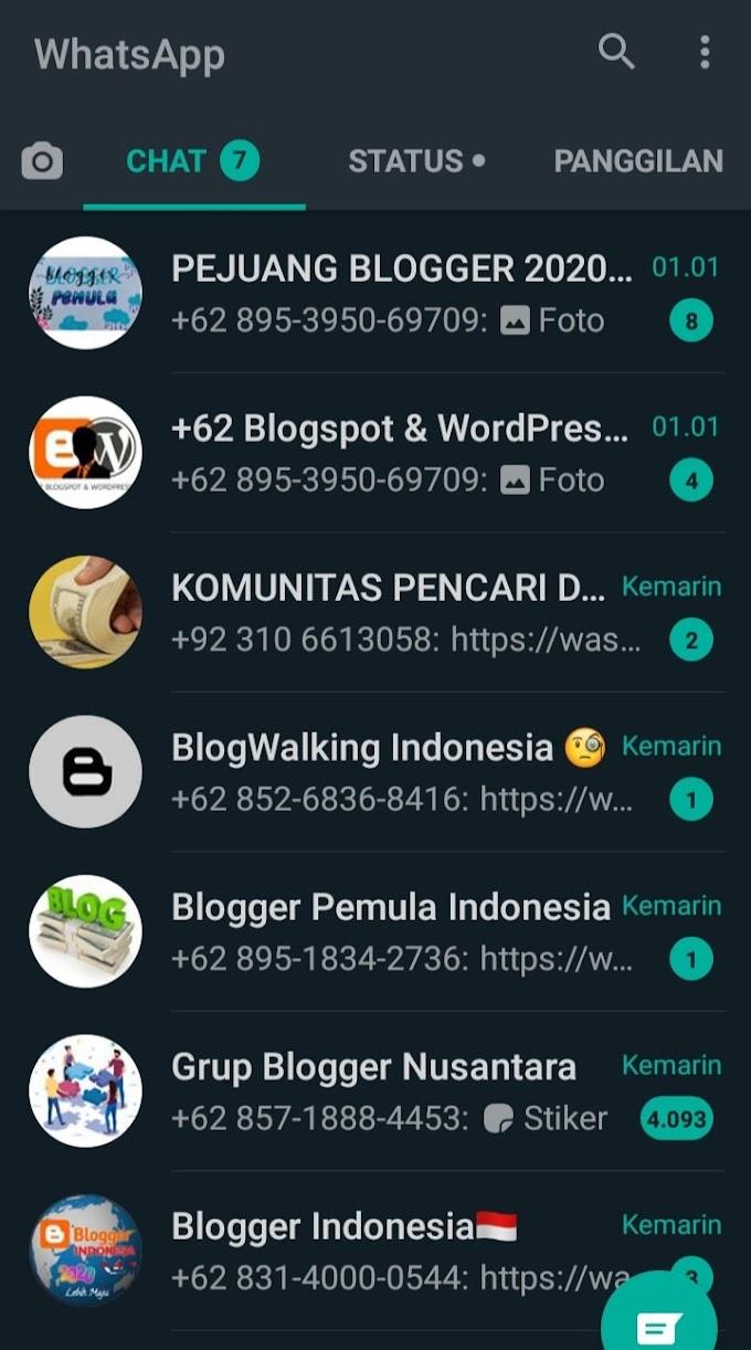 Daftar Grup WA Blogger yang Bisa Kamu Ikuti