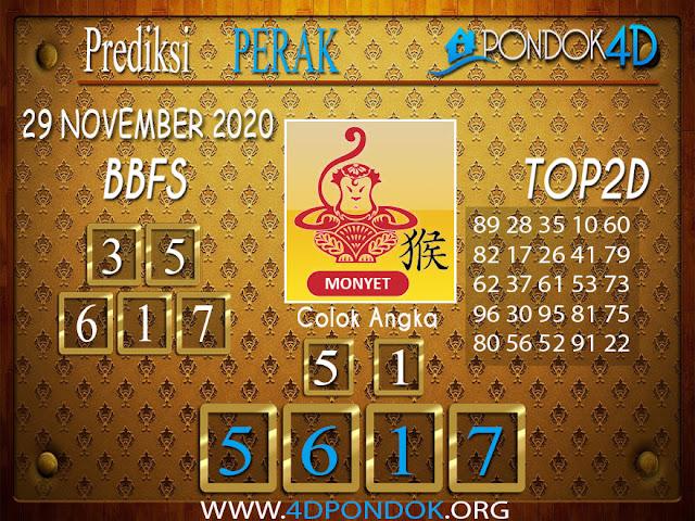Prediksi Togel PERAK PONDOK4D 29 NOVEMBER 2020