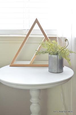 Harp Designs Shelf on white table