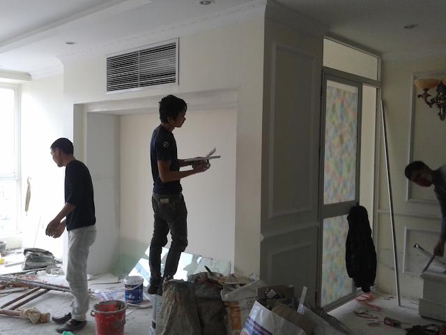 sơn sửa lại căn hộ chung cư tại quận 11
