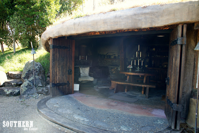 Hobbit Hole Lord of the Rings Accommodation Hamilton Waikato New Zealand