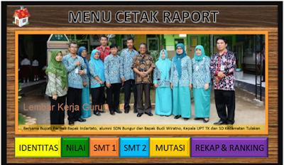 Aplikasi Raport Kurikulum 2013