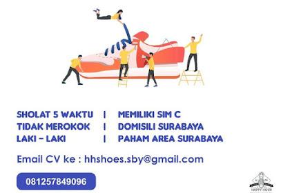 Lowongan Pekerjaan Shoe Technician di Surabaya