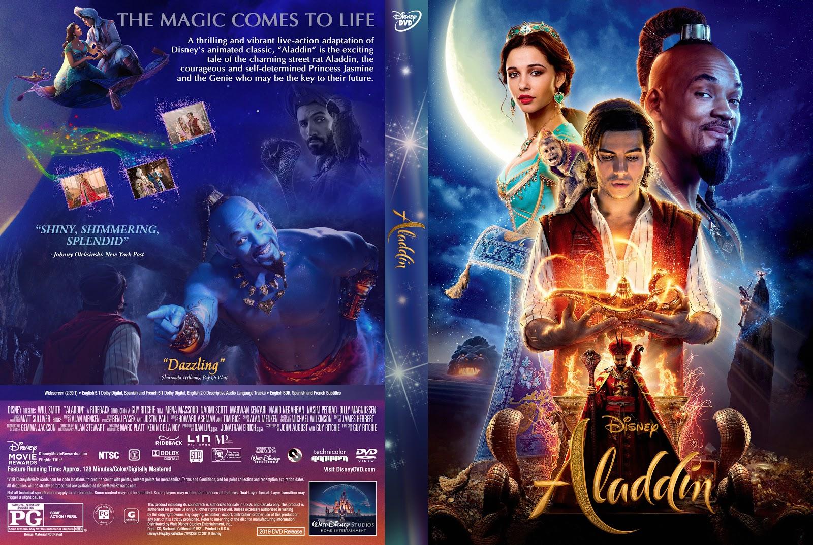 Aladdin 2019 Dvd Cover Cover Addict Free Dvd Bluray