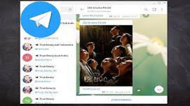 Link Telegram Drama Korea Sub Indo