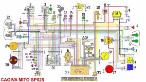 CAGIVA MITO 125 : cagiva mito 125 wiring diagrams